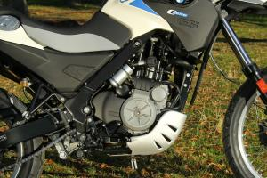 2012 BMW G650GS Sertao engine