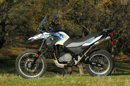 2012 BMW G650GS Sertao left