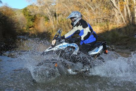 2012 BMW G650GS Sertao water