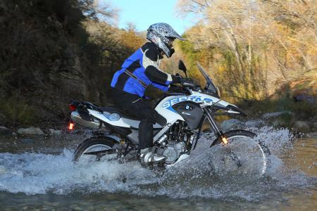 2012 BMW G650GS Sertao water5