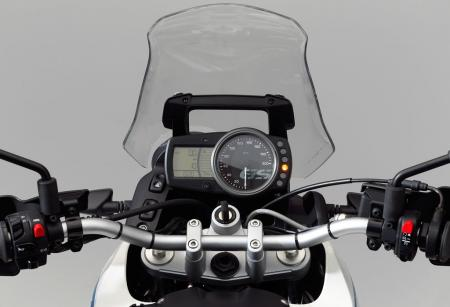 2012 BMW G650GS Sertao Gauges