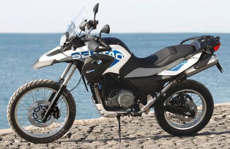 2012 BMW G650GS Sertao Left Side
