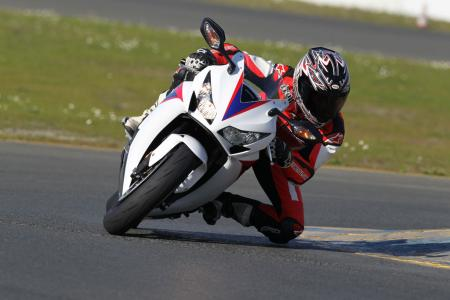 2012 Honda CBR1000RR Action Cornering BJN97454