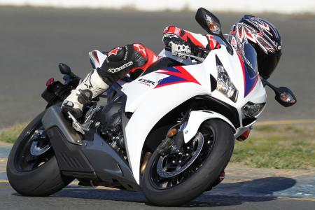 2012 Honda CBR1000RR Left Side Action BJN97655