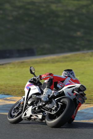 2012 Honda CBR1000RR Rear View