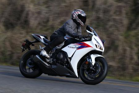 2012 Honda CBR1000RR Right Side Action