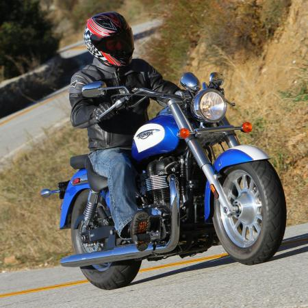 2012 Triumph America Action Right 8784
