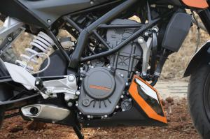 2012 KTM 200 Duke Engine
