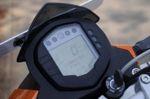 2012 KTM 200 Duke Info Display