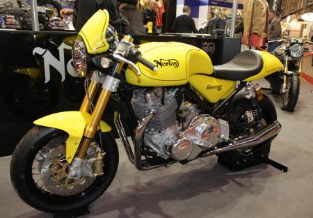 Norton Commando Sport cafe racer