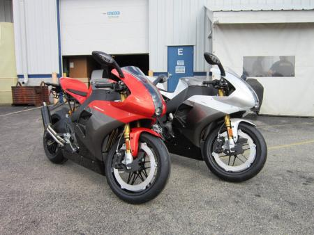 2012 Erik Buell Racing 1190RS red and silver