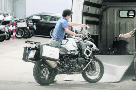 2013 BMW R1250GS Spy Shot