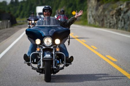 Motorcycle Riding in Ontario