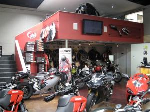 GP Motorcycles Showroom