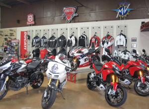 Moto Forza showroom