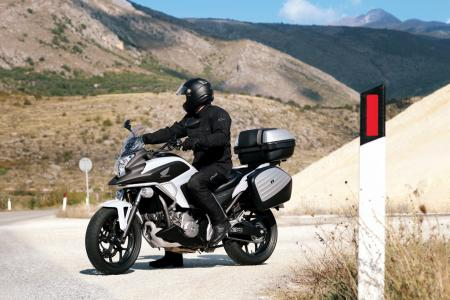 2012 Honda NC700X Stationary