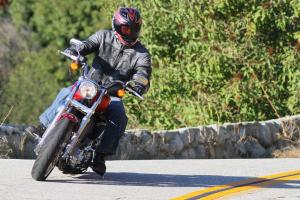 2012 Harley-Davidson SuperLow Cornering