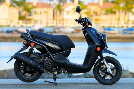 2012 Yamaha Zuma 125 right profile
