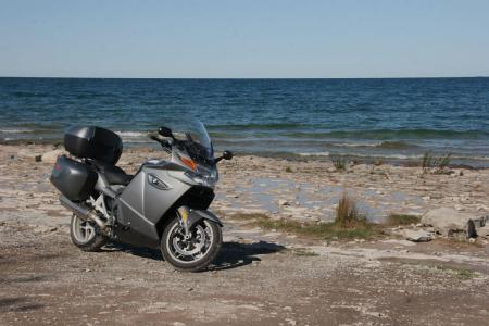 Motorcycle Riding Lake Huron