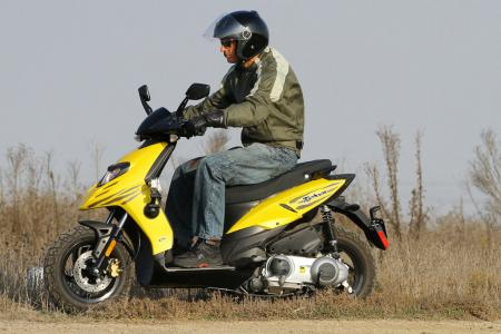2012 Piaggio Typhoon 125 Off Road 0910