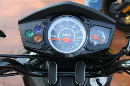 2012 Yamaha Zuma 125 Gauges 0497