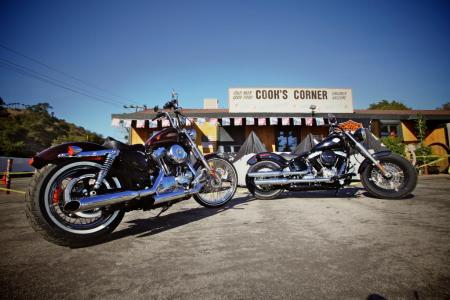 2012 Harley-Davidson Seventy-Two and Softail Slim