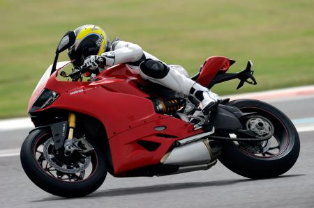 2012 Ducati Panigale 1199 Action Left