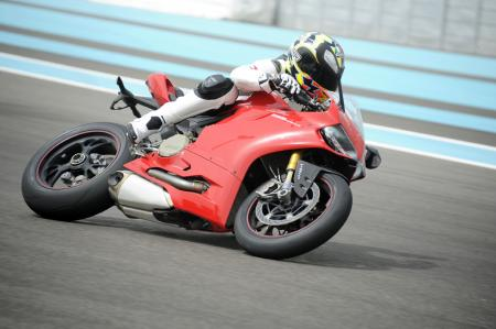 2012 Ducati Panigale Action Right
