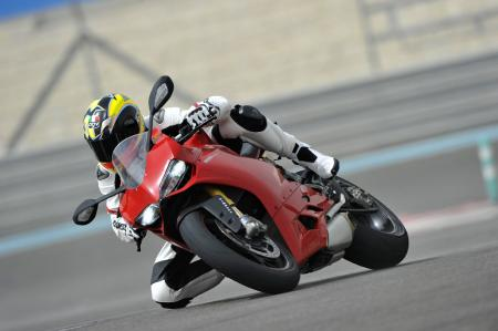 2012 Ducati 1199 Panigale Knee Down