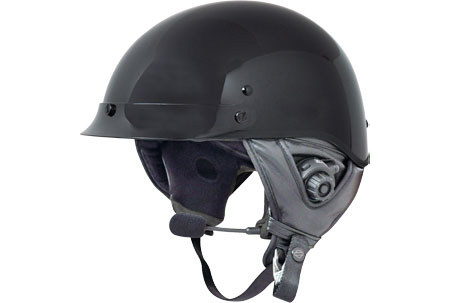 Sena half-helmet Bluetooth communicator