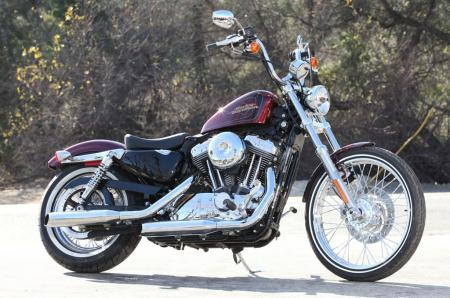 2012 Harley-Davidson Seventy-Two Profile Right