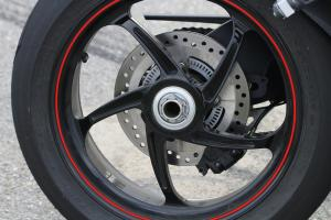 2012 Triumph Speed Triple R  forged wheels
