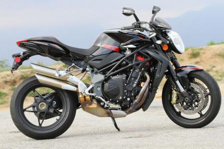 2012 MV Agusta Brutale 1090R Profile Right