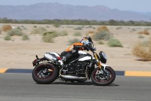 2012 Speed Triple R Track Test