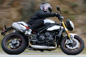 2012 Triumph Speed Triple R Right Side