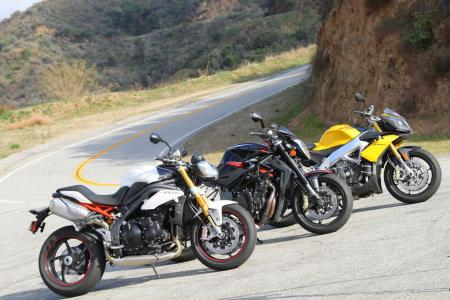 Speed Triple R vs Brutale R 1090 vs Tuono V4 R APRC
