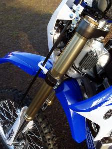2012 Yamaha WR450F Speed Sensitive fork