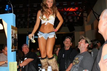 2012 Daytona Bike Week Motorcycle Babe