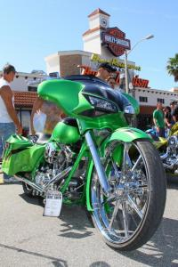 2012 Daytona Bike Week Green Custom