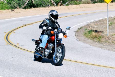 2012 Honda Rebel Cornering