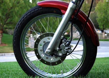 2012 Honda Rebel Front Wheel