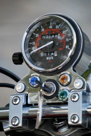 2012 Honda Rebel Gauges