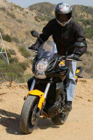 2012 Kawasaki Versys Off-Road Action 1464