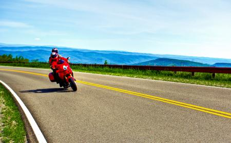 Two-Up Ducati Riding West Virginia
