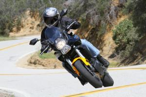 2012 650 Adventure Touring Shootout Kawasaki Versys Cornering