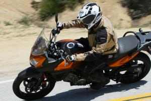 2012 650 Adventure Touring Shootout Suzuki V-Strom