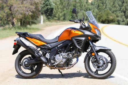 2012 650 Adventure Touring Shootout Suzuki V-Strom Profile