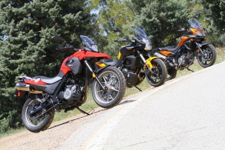 2012 650 Adventure Touring Shootout