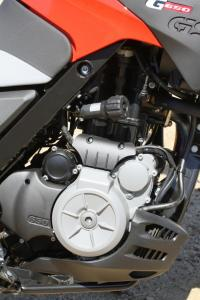 2012 650 Adventure Touring Shootout BMW G650GS Engine