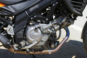 2012 650 Adventure Touring Shootout Suzuki V-Strom Engine